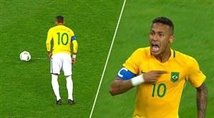 گل های شگفت انگیز نیمار برای تیم ملی برزیل