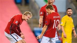 اولین هت تریک هالند برای تیم ملی نروژ