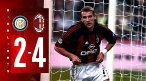 دربی خاطره انگیز میلان در فصل 2002-2001