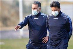 حسین کاظمی: کادرفنی مورینیو هم 17 نفر است