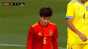 عملکرد ریکی پوچ در ترکیب زیر 21 ساله های اسپانیا