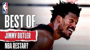حرکت های برتر جیمی باتلر بعد از بازگشایی مسابقات NBA