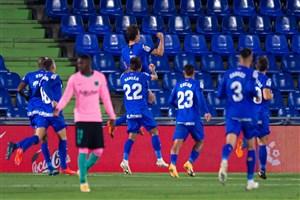 ختافه 1-0 بارسلونا: اولین شکست کومان