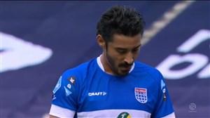 صحنه پنالتی از دست رفته قوچان نژاد مقابل آیندهوون
