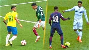 محو 50 بازیکن فوتبال به دست نیمار ستاره تکنیکی پاریسی ها