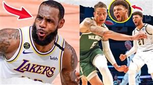 10 اسلم دانک برتر بسکتبال NBA از 2017 تا 2020