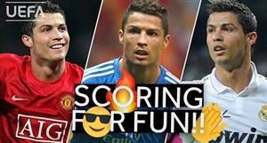 برترین گل های کریس رونالدو در مرحله گروهی لیگ قهرمانان اروپا
