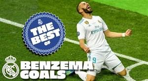 برترین گل های کریم بنزما برای رئال مادرید