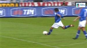 برترین ضربات کاشته بازیکنان تیم ملی ایتالیا