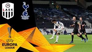 خلاصه بازی تاتنهام 3 - لاسک 0 (گزارش اختصاصی)