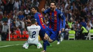 27 گل از لیونل مسی در الکلاسیکو مقابل رئال مادرید