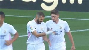 گل اول رئال مادرید به بارسلونا توسط والورده
