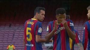 گل اول بارسلونا به رئال مادرید توسط آنسو فاتی