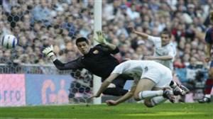 گل به یادماندنی زیدان با ضربه سر به بارسلونا در ال کلاسیکو