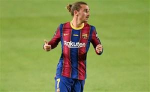 گل چهارم بارسلونا به گرانادا (دبل گریزمان)