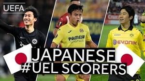بهترین گل های بازیکنان ژاپنی در لیگ اروپا