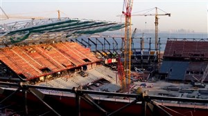 بازسازی ورزشگاه راس ابوعبود برای جام جهانی 2022