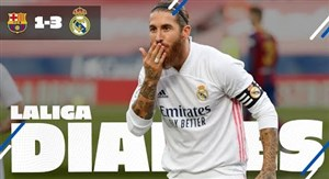 حواشی دیدار جذاب بارسلونا و رئال مادرید در لالیگا