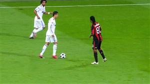 آث میلان - رئال مادرید; اولین رویارویی زلاتان و کریستیانو رونالدو
