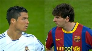 آخرین جدال مسی و رونالدو در لیگ قهرمانان اروپا