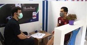 حضور پرسپولیسیها در ایفمارک برای تست های پزشکی