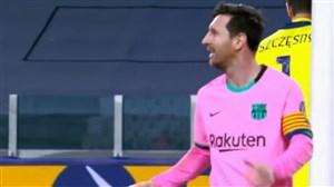 گل دوم بارسلونا به یوونتوس توسط مسی