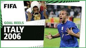 تمام گلهای تیم ملی ایتالیا در جام جهانی 2006
