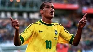 شوت تماشایی ریوالدو در جام جهانی ۱۹۹۸ به دانمارک