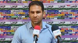 نشست خبری ابراهیم صادقی قبل از دیدار با پرسپولیس