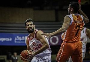 لیگ بسکتبال؛ پیروزی شهرداری گرگان مقابل اکسون