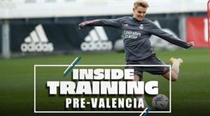 تمرینات امروز تیم رئال مادرید با حضور ستارگان