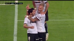 گل چهارم والنسیا به رئال مادرید (کارلوس سولر)