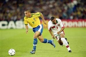 دیدار برزیل افسانه ای سال 1998 با تیم ملی مراکش