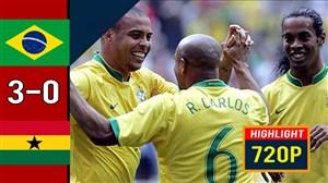 دیدار خاطرهانگیز برزیل - غنا (جام جهانی 2006)