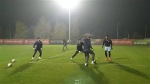 تمرین بانشاط تیم ملی در کمپ سارایهوو