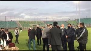 مراسم تجلیل از مربیان و بازیکنان ذوب آهن در فینال سال ٢٠١٠