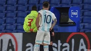 عملکرد لیونل مسی مقابل تیم ملی پاراگوئه