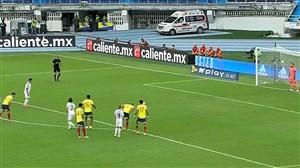 گل دوم اروگوئه به کلمبیا توسط سوارز