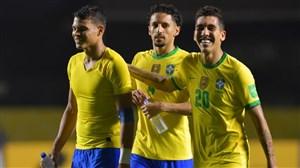 برزیل با تکگل فیرمینو صدرنشین شد