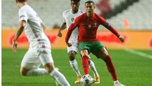 عملکرد کریستیانو رونالدو مقابل تیم ملی فرانسه