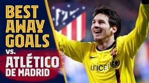 بهترین گل های بارسلونا در خانه اتلتیکو مادرید