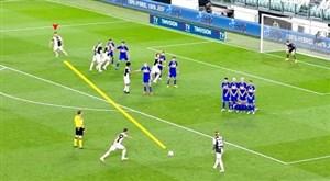 حرکات هوشمندانه از ستارگان فوتبال در مستطیل سبز