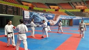 آغاز اردوی تیم ملی کاراته از 17 آذر در کیش