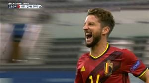 گل دوم بلژیک به انگلیس (سوپر گل دنیس مرتنز)