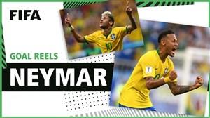 گلهای نیمار در تاریخ مسابقات جام جهانی