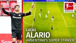 لوکاس آلاریو; برترین مهاجم آرژانتینی بوندسلیگا در فصل اخیر