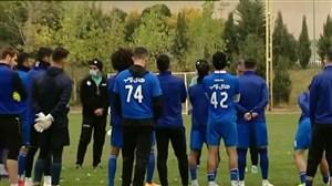 ادامه تمرینات استقلال تهران برای هفته دوم لیگ برتر
