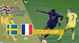 خلاصه بازی فرانسه 4 - سوئد 2 (گزارش اختصاصی)