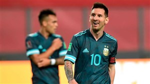 مسی: این آرژانتین امیدوارکننده است