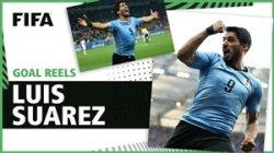 گلهای لوئیس سوارز در تاریخ جام جهانی